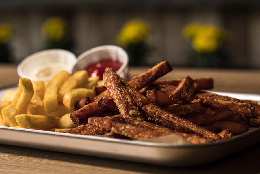 Anthony Bacon-Burgerladen Berlin Kladow-Pommes