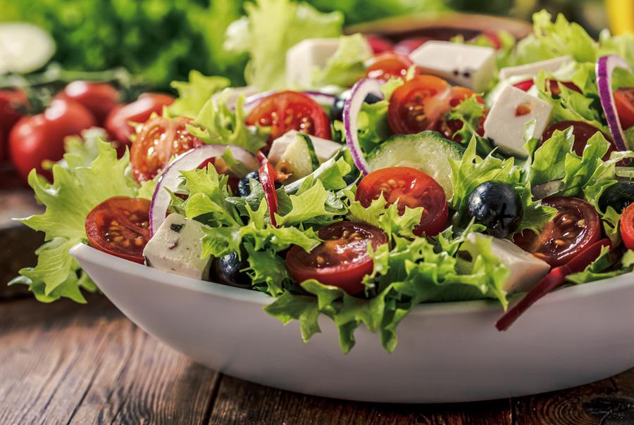 Anthony Bacon-Burgerladen Berlin Kladow-Salat